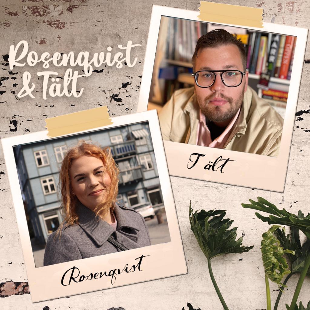 Poddomslag för podden Rosenqvist och Tält.